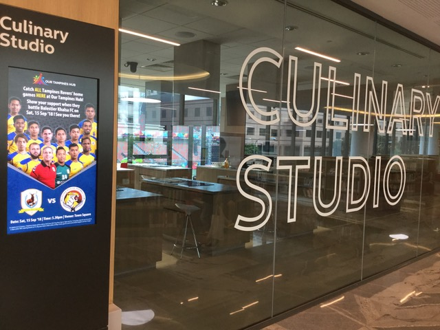 Tampines Library Culinary Studio